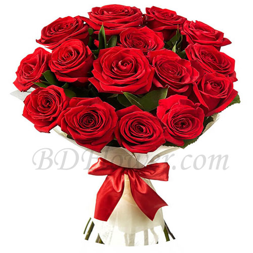 Send roses in bouquet to Bangladesh