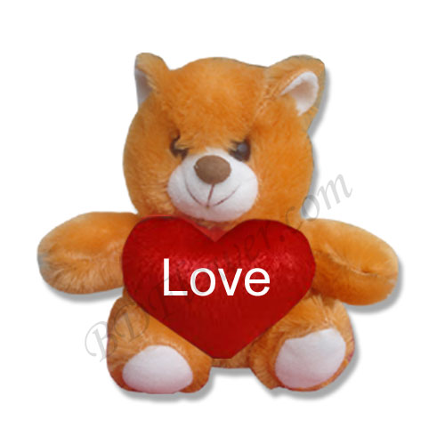 Send small brown love bear to Bangladesh