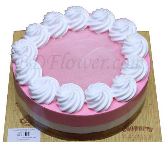 Send pink lemondi cake to Bangladesh