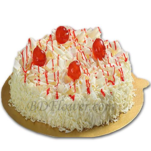 Send white forest cake to Bangladesh