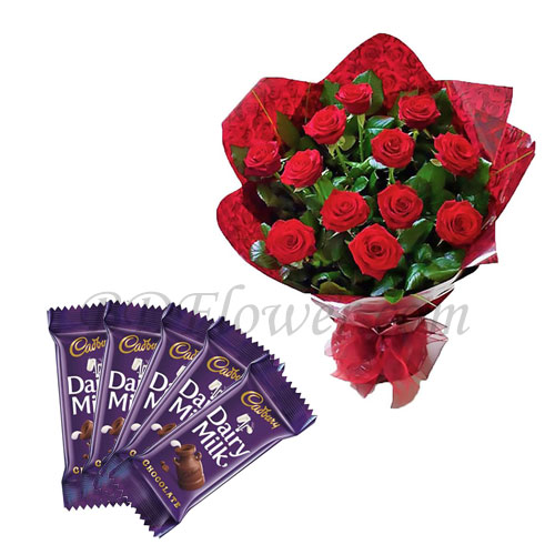 Send chocolates and red roses to Bangladesh