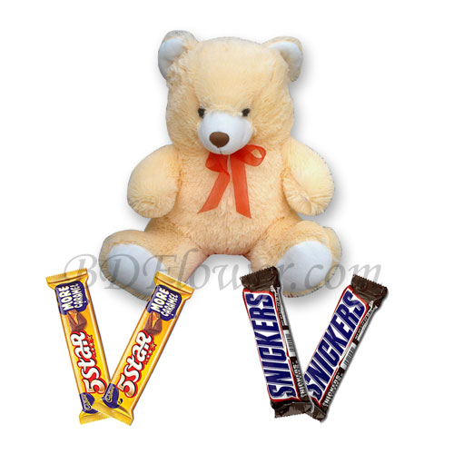 Send bear and chocolates to Bangladesh